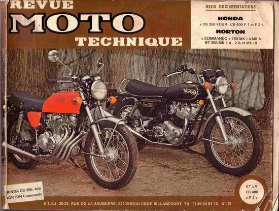 HONDA CB 350 CB 400 FOUR REPOSE PIED MOTO ARRIERE